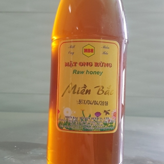 Raw honey Natural(pet bottle 1000ml)