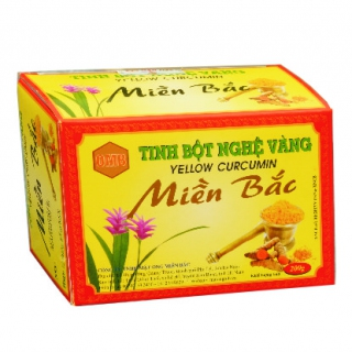 Yellow curcumin box 200g